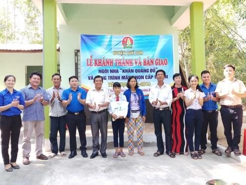 Bàn giao 03 công trình kỷ niệm 78 năm  ngày thành lập Đội TNTP Hồ Chí Minh