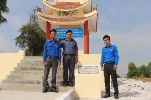 Bàn giao công trình thanh niên cấp huyện chào mừng Đại hội đại biểu Đoàn TNCS Hồ Chí Minh tỉnh Quảng Nam  lần thứ XVIII, nhiệm kỳ 2017-2022