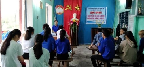 Chi đoàn TDP Hương Lộc, TT. Hương An tổng kết công tác Đoàn năm 2020