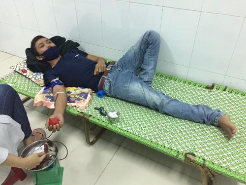 CLB Ngân hàng máu sống xã Quế Xuân 2 tiếp tục tham gia hiến máu cứu người