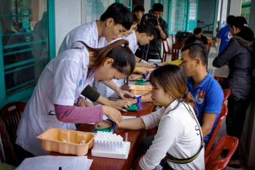 """CLB Ngân hàng máu sống xã Quế Xuân 2 tổ chức Ngày hội """"Toàn dân tham gia hiến máu tình nguyện"""""""