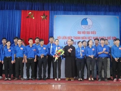 Đại hội đại biểu Hội LHTN Việt Nam huyện Quế Sơn lần thứ V nhiệm kỳ 2016-2021