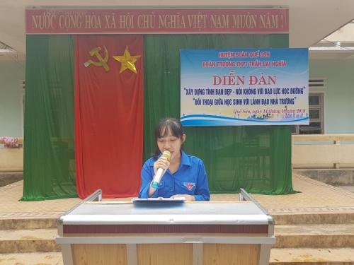 Hội LHTN Trường THPT Trần Đại Nghĩa: Sôi nổi kỷ niệm 63 năm Ngày truyền thống Hội LHTN Việt Nam