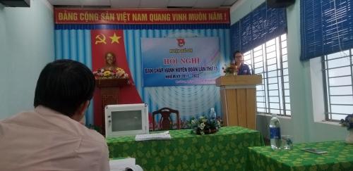 Hội nghị Ban Chấp hành bầu bổ sung chức danh Bí thư Huyện Đoàn Quế Sơn, khóa XIII, nhiệm kỳ 2017 - 2022