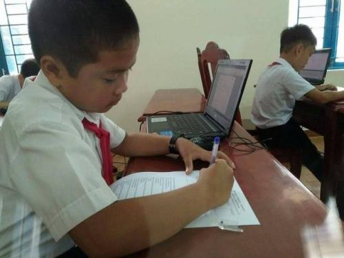 Hội thi tin học trẻ huyện Quế Sơn