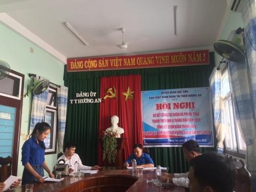 Hương An: Sơ kết công tác đoàn và phong trào thanh thiếu nhi 6 tháng đầu năm 2020