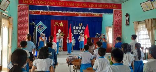 Hương An: Tổ chức lễ kết nạp đội viên