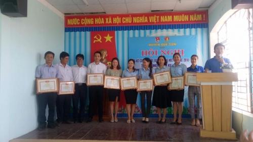 Huyện Đoàn, Hội đồng Đội huyện tổ chức hội nghị tổng kết công tác Đội, Đoàn trường học, tập huấn công tác Đội năm học 2018-2019