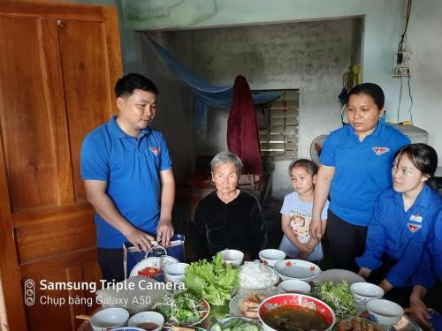 Huyện Đoàn, Hội LHTN Việt Nam huyện tổ chức chương trình Xuân tình nguyện 2020