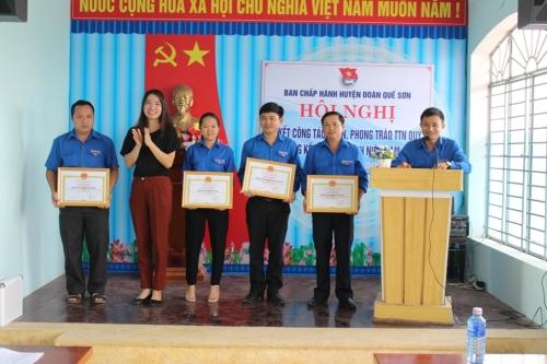 Huyện đòan tổ chức Hội nghị sơ kết quý I và tổng kết Tháng Thanh niên  năm 2018.