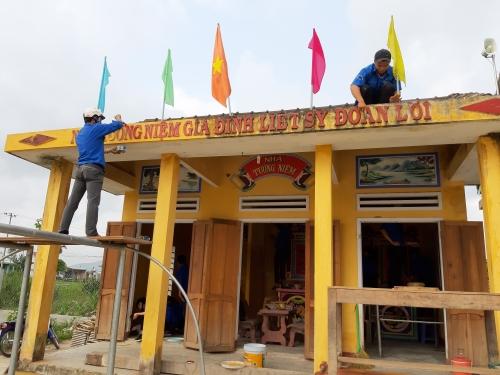 """Kết quả tháng thứ ba (tháng 5) Cuộc thi ảnh """"Khoảnh khắc tình nguyện""""  huyện Quế Sơn năm 2019"""