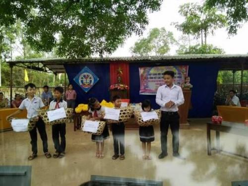 Liên đội trường TH Quế Minh tổ chức ngày hội thắp sáng ước mơ