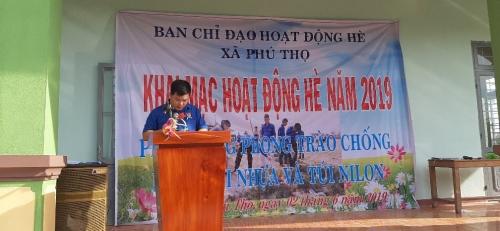 Phú Thọ: Khai mạc hoạt động hè 2019 và ra quân tuyên truyền rác thải nhựa hưởng ứng ngày môi trường thế giới