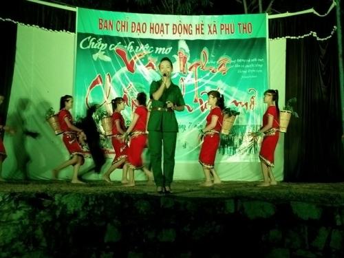 Phú Thọ tổ chức chương trình văn nghệ Chắp cánh ước mơ