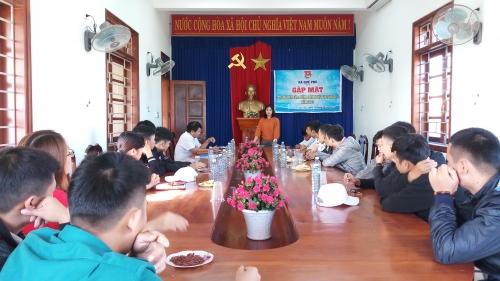Quế Phú: Gặp mặt thanh niên lên đường làm NVQS năm 2019