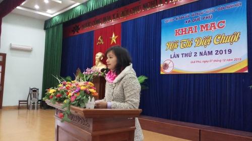 Quế Phú: Tổ chức Hội thi diệt chuột bảo vệ mùa màng