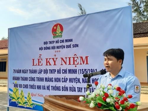 Hội đồng Đội huyện tổ chức các hoạt động kỷ niệm 79 năm Ngày thành lập Đội TNTP Hồ Chí Minh, 130 năm sinh nhật Bác