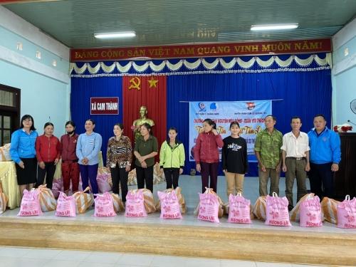"""Quế Xuân 1:  Tổ chức chương trình  Tình nguyện mùa Đông 2020 - Xuân yêu thương 2021 """"Triệu trái tim – Một tấm lòng"""""""