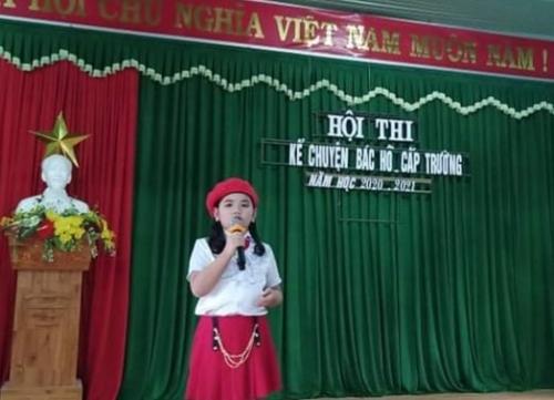 """TH Đông Phú: Tổ chức hội thi """"Chúng em kể chuyện Bác Hồ"""""""
