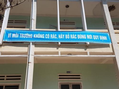"""THPT Trần Đại Nghĩa tổ chức các hoạt động """"nói không với rác thải nhựa"""""""