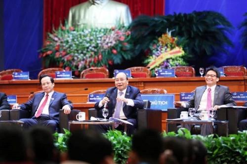Thủ tướng Chính phủ đối thoại với 1.000 đại biểu thanh niên