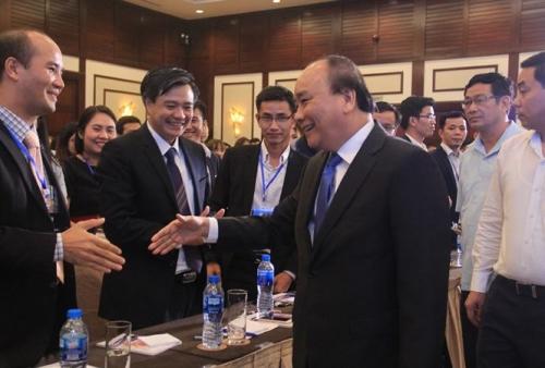 Thủ tướng Nguyễn Xuân Phúc chủ trì diễn đàn Thanh niên khởi nghiệp