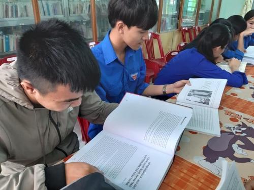 Thúc đẩy đam mê đọc sách cho đoàn viên, thanh thiếu nhi trên địa bàn huyện