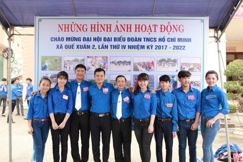 Toàn cảnh Đại hội điểm xã Quế Xuân 2 lần thứ IV, nhiệm kỳ 2017-2022