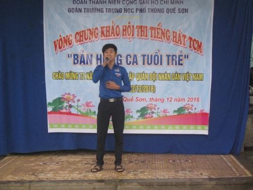 Trường THPT Quế Sơn tổ chức hội thi TCM.