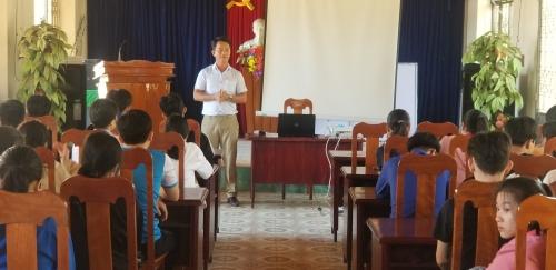 TT. Đông Phú: Tổ chức tư vấn hướng nghiệp cho thanh niên