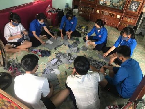 """Tuổi trẻ Hương An: """"Áo xanh hành động"""" cùng cả nước chống dịch Covid-19"""