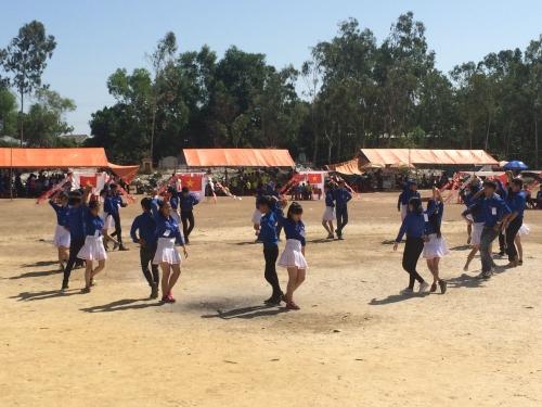 """Tuổi trẻ Quế Xuân 2 tổ chức trại hè với chủ đề """"Thanh niên xung kích vì cuộc sống cộng đồng"""""""