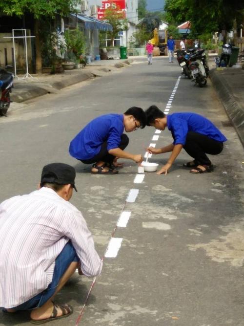Tuổi trẻ thị trấn Đông phú với các hoạt động văn minh đô thị